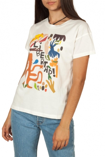 Thinking Mu organic cotton t-shirt Libertad
