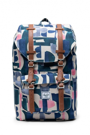 Herschel Supply Co. Little America mid volume backpack abstract block