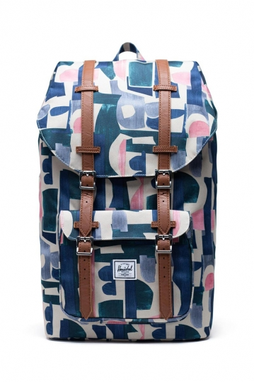 Herschel Supply Co. Little America backpack abstract block