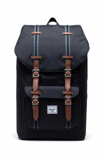Herschel Supply Co. Little America backpack black/black/tan
