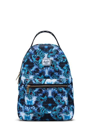 Herschel Supply Co. Nova Small backpack tie dye screaming hand