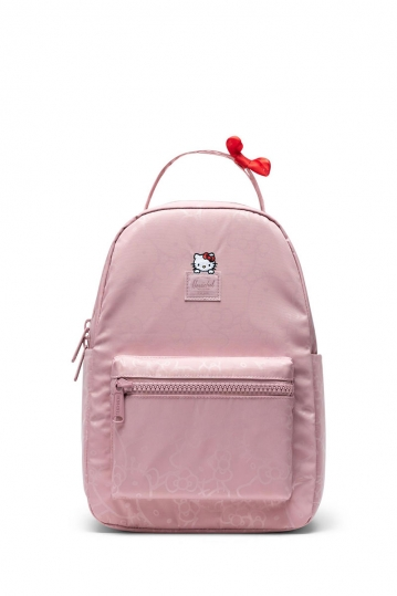 Herschel Supply Co. Nova small backpack Hello Kitty pale mauve
