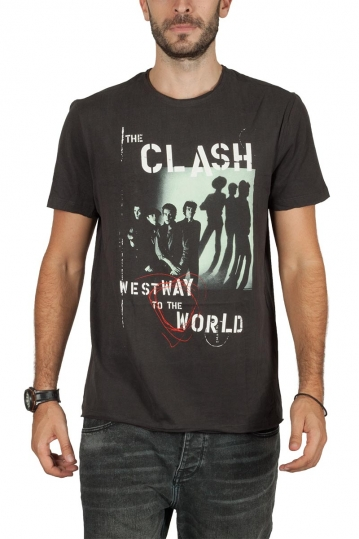 Amplified The Clash Westway to the world t-shirt