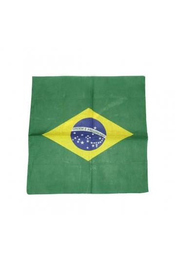 Brazillian Ordem E Progresso flag bandana