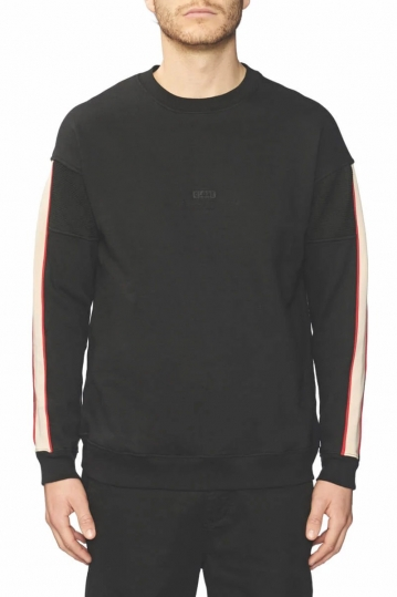 Globe Magnified sweatshirt black