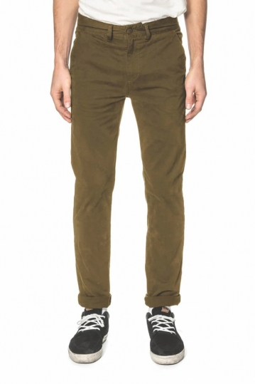 Globe Goodstock chino pants field green
