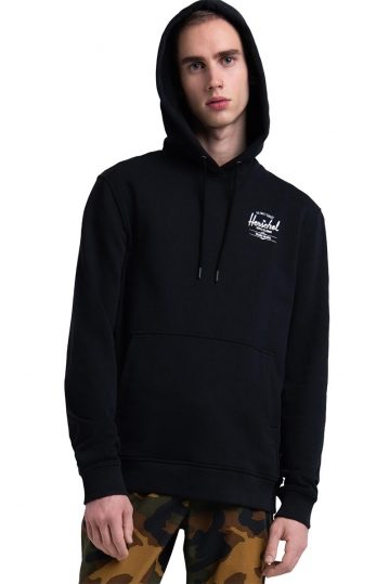 Herschel Supply Co. men's classic logo pullover hoodie black