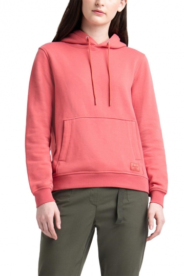 Herschel Supply Co. women's pullover hoodie mineral red