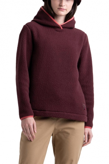 Herschel Supply Co. sherpa hoodie plum