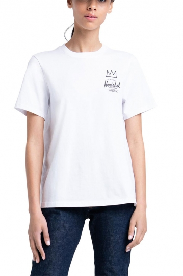 Herschel Supply Co. women's t-shirt Basquiat