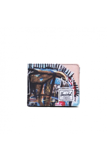 Herschel Supply Co. Roy coin wallet RFID Basquiat skull