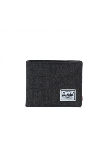 Herschel Supply Co. Roy XL coin wallet RFID black srosshatch