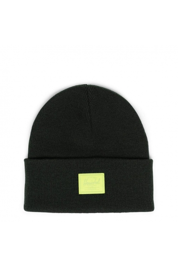 Herschel Supply Co. Elmer beanie dark olive/lime green