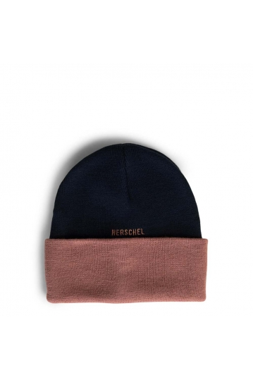 Herschel Supply Co. Roswell beanie peacoat/ash rose