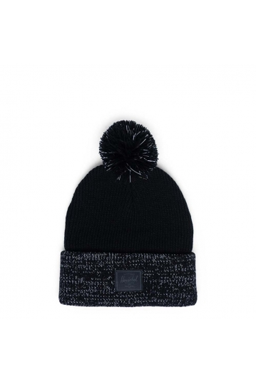 Herschel Supply Co. Sepp beanie black reflective