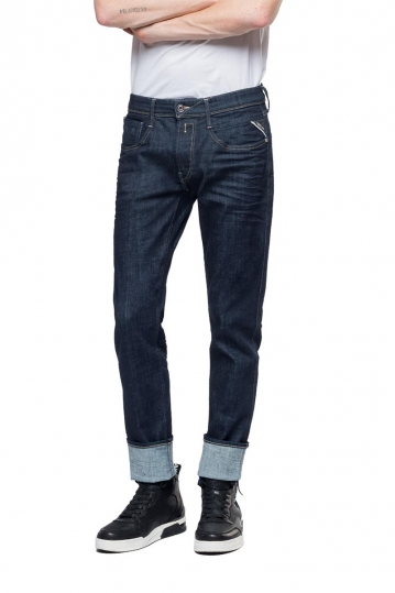 Replay Anbass slim fit jeans deep blue
