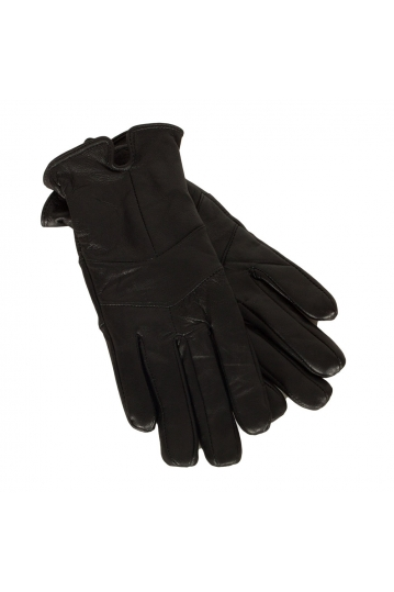 Rut & Circle Elise women's leather gloves black