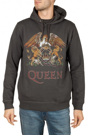 Amplified Queen Royal crest hoodie slate grey