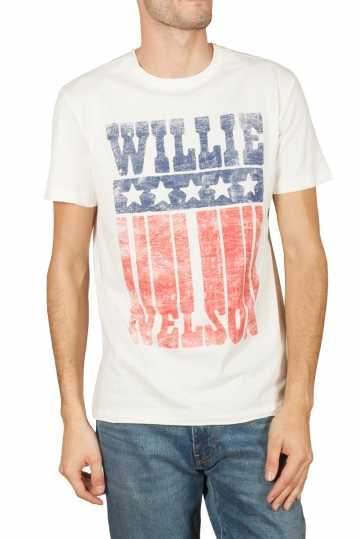 Amplified Willie Nelson Flag t-shirt