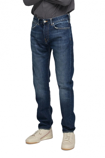 EDWIN ED-80 slim tapered jeans rainbow selvage blue hikaru wash