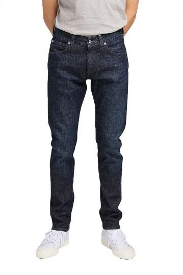 EDWIN ED-85 slim tapered drop crotch jeans blue taiki wash