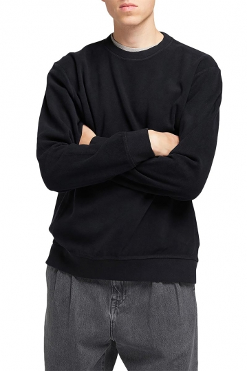 EDWIN Nicki cotton sweat black