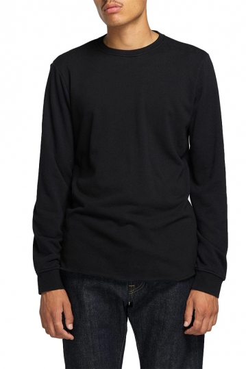 EDWIN Terry rib sweat black
