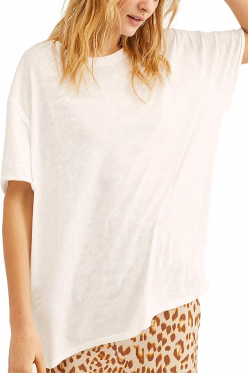 Free People clarity ringer white