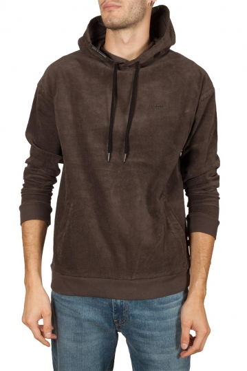 Globe Tune hoodie corduroy brown