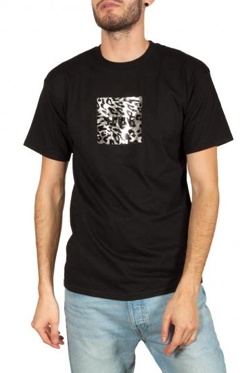 Huf Panthera box logo t-shirt black