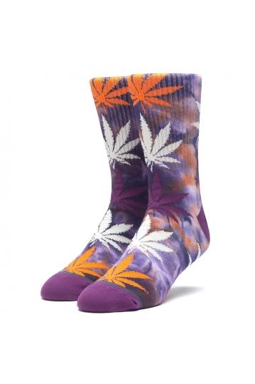 Huf tie-dye plantlife socks rust