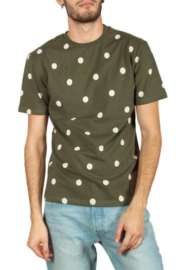 Minimum Aarhus dot t-shirt khaki green