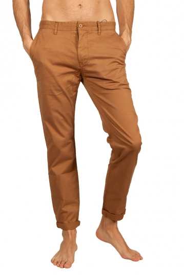 Minimum Norton chino pants brown