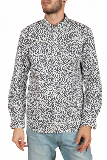 Minimum Walther animal print shirt