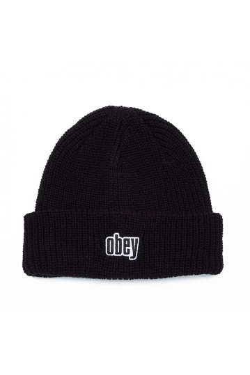 Obey Jungle beanie black