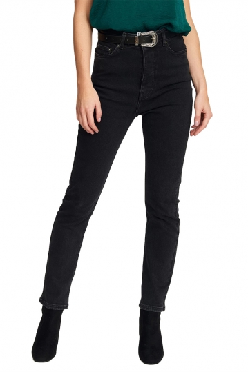 Rut & Circle Nora high waist jeans black