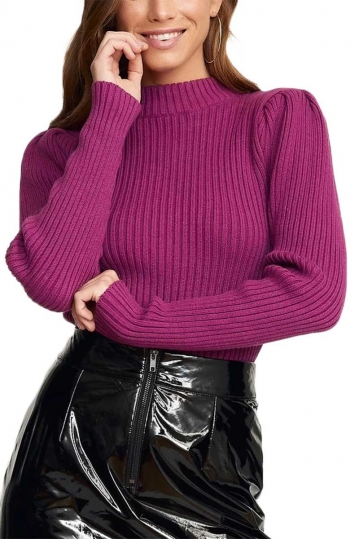 Rut & Circle Nina sweater purple
