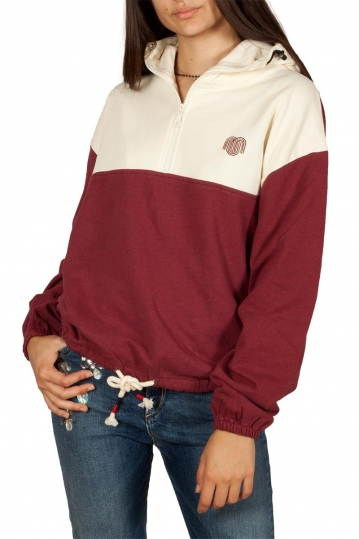 Thinking Mu Patagonia organic cotton hoodie bordeaux