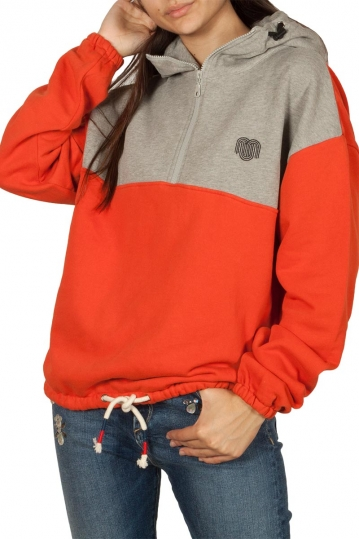 Thinking Mu Patagonia organic cotton hoodie pumpkin