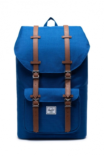 Herschel Supply Co. Little America backpack monaco blue crosshatch