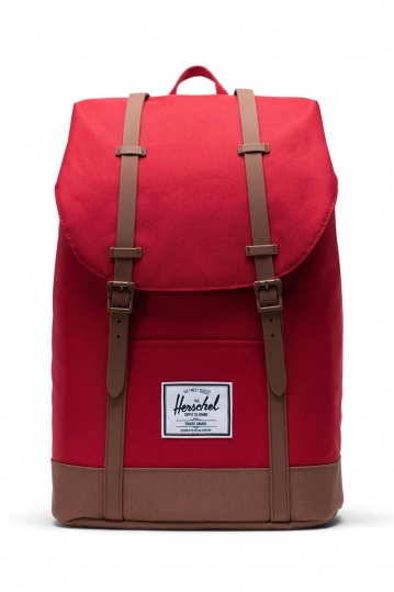 Herschel Supply Co. Retreat backpack red/saddle brown