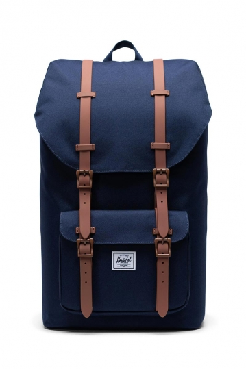 Herschel Supply Co. Little America backpack peacoat/saddle brown