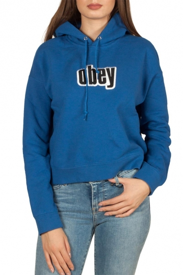 Obey Shipley φούτερ με κουκούλα