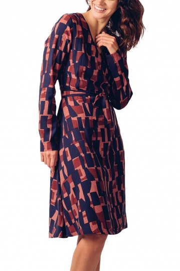 Skunkfunk Mari Lyocell wrap dress