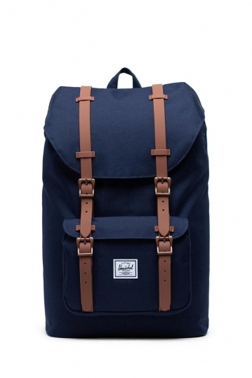 Herschel Supply Co. Little America mid volume backpack peacoat/saddle brown