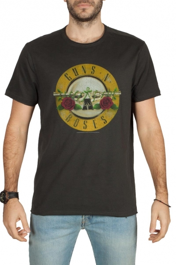 Amplified Guns n' Roses Drum t-shirt charcoal