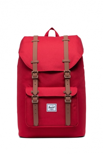 Herschel Supply Co. Little America mid volume backpack red/saddle brown