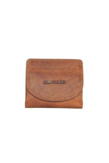 Hill Burry leather wallet RFID brown
