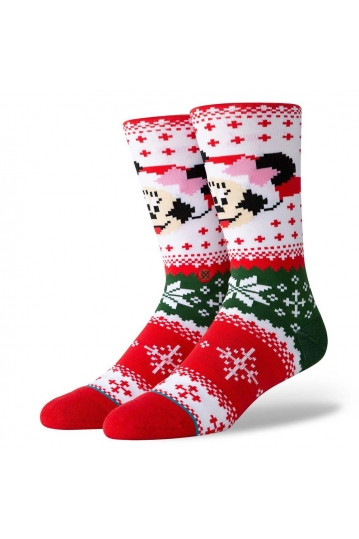 Stance Minnie Claus socks