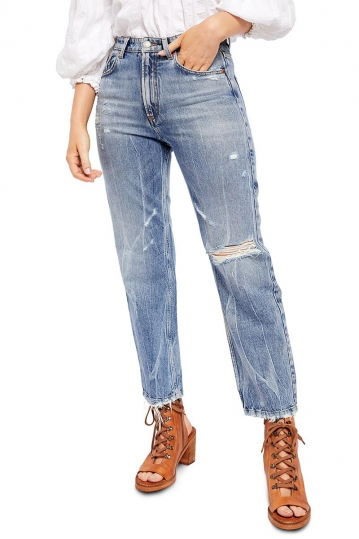 Free People Dakota straight leg jeans